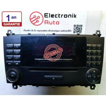 MERCEDES CLASE C AUDIO RADIO SYSTEM (W203) ref: A2038273842, 020748,