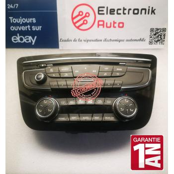Peugeot climate heating radio control panel ref: W24RFTA, E1077076M01,