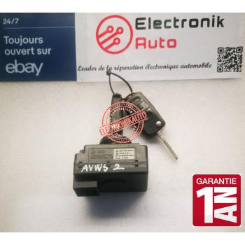 Ignition Lock Volkswagen Audi with 2 original keys: 3D0905865E, 33300101,