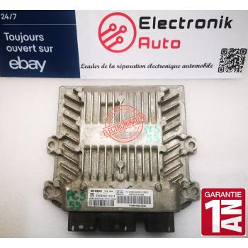 Engine ECU SID 804 Citroen C3, Peugeot 1,4 HDI HW9648624280, 5WS40117C-T,