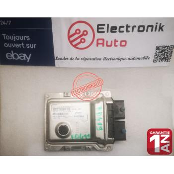 FIAT 500 engine control unit ref: 51975364, BGPBV27CN, 9GFT6,4EO1,