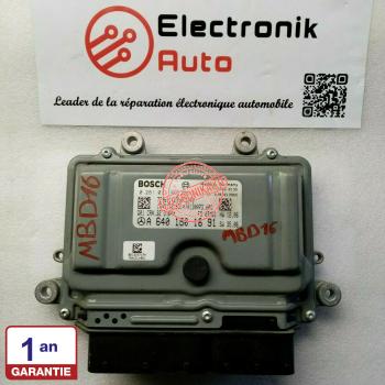 ECU del motor Bosch Mercedes ref: A6401501691, 0281013965,