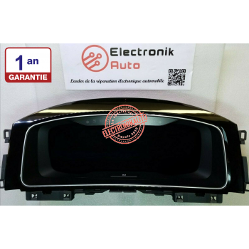 Digitaler Tachometer Volkswagen Golf 7 Ref: 5G1920794A, A2C10385600,