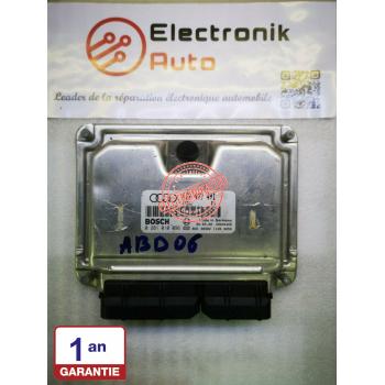 Bosch engine control unit for AUDI Ref: 0281010096, 4B2907401,
