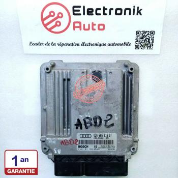 BOSCH Audi engine control unit ref: 03G906016DT, 0281011892,