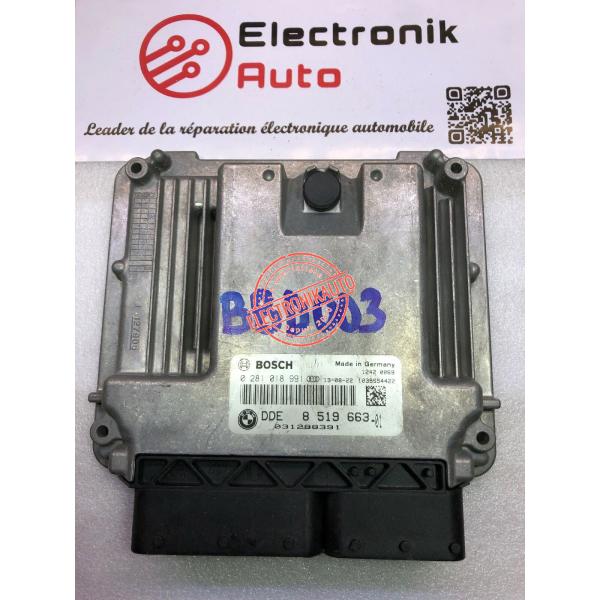 control unit BOSCH BMW MINI COOPER 1.6 diesel 0281018991,8519663-01,031288391,