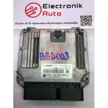 calculateur BOSCH BMW MINI COOPER 1.6 diesel 0281018991,8519663-01,031288391,