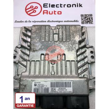 Continental Peugeot engine control unit, Citroen 1.6 HDI REF: HW9666681180,