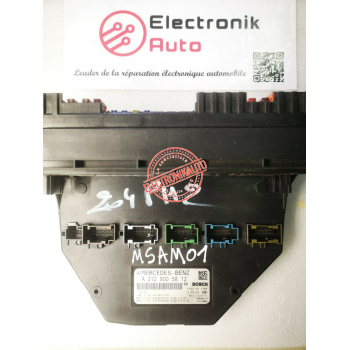Front fuse box or SAM Mercedes W204 Ref: A2129005812,