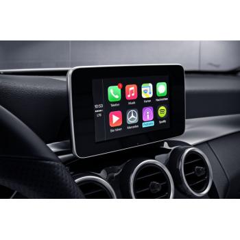 GPS screen MERCEDES navigation screen