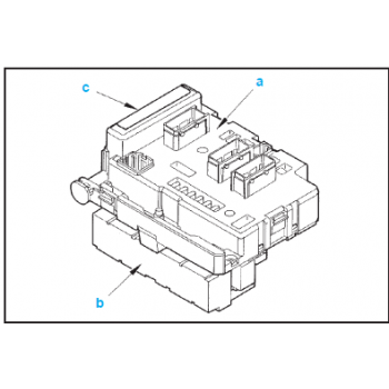 BSM Peugeot engine servitude unit